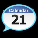 Talking Calendar Reminder Alarm app. icon