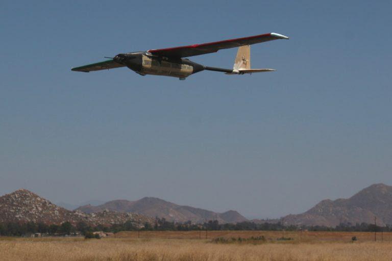ANSYS | Беспилотный летательный аппарат во время полевых испытаний