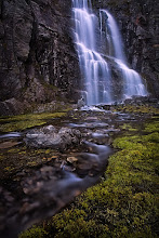 Photo: The Majestic Waterfall On the pass between Lærdal and Aurland, Norway  Canon 5D, Canon 17-40 4L @ 22mm, f/16, 2.5 seconds, polarizer, tripod, manual focus, multi exposures with different focus settings  This is a multi focus exposure which has been stacked together later in order to get maximum depth of field.  Oh, I nearly forgot. Today is #WaterfallWednesday ;-)