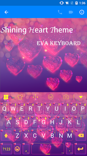 Love Keyboard Theme -Funny Gif