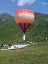 Photo: Tour de france 2010 en ballon captif