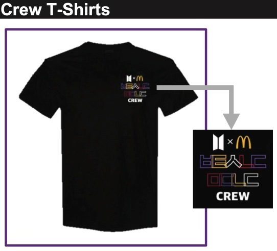 mcdonalds shirts