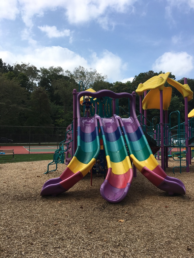 colorful-slides-at-playground