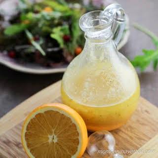 Orange Shallot Vinaigrette.