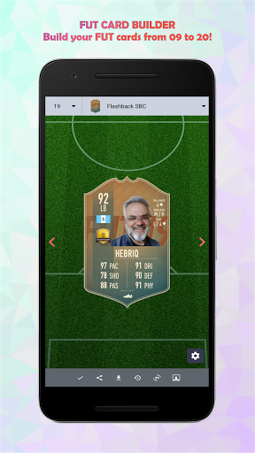 FUT Card Builder 20 6.0.0 screenshots 2