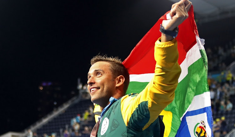 Chad Le Clos: 100m butterfly gold. Picture: REUTERS