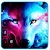 Ice Wolf Howl Feral 3D Theme file APK for Gaming PC/PS3/PS4 Smart TV