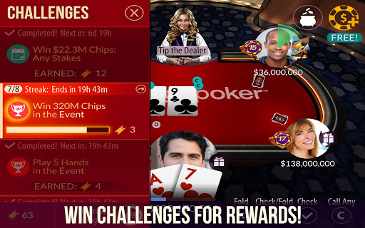 Zynga Poker screenshot 3