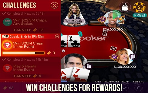Zynga Poker – Free Texas Holdem Online Card Games 3