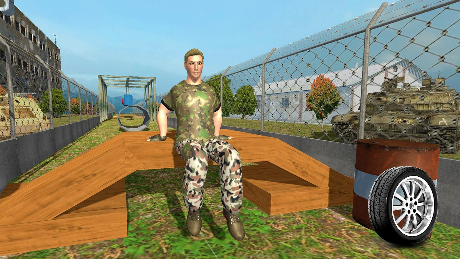 Military Commando Training 3D- screenshot