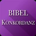 Bibelkonkordanz und Bibel icon