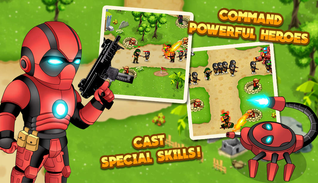 Turret Defense: BTD Battles- screenshot