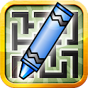 Crayon Maze (Ad-Free) icon