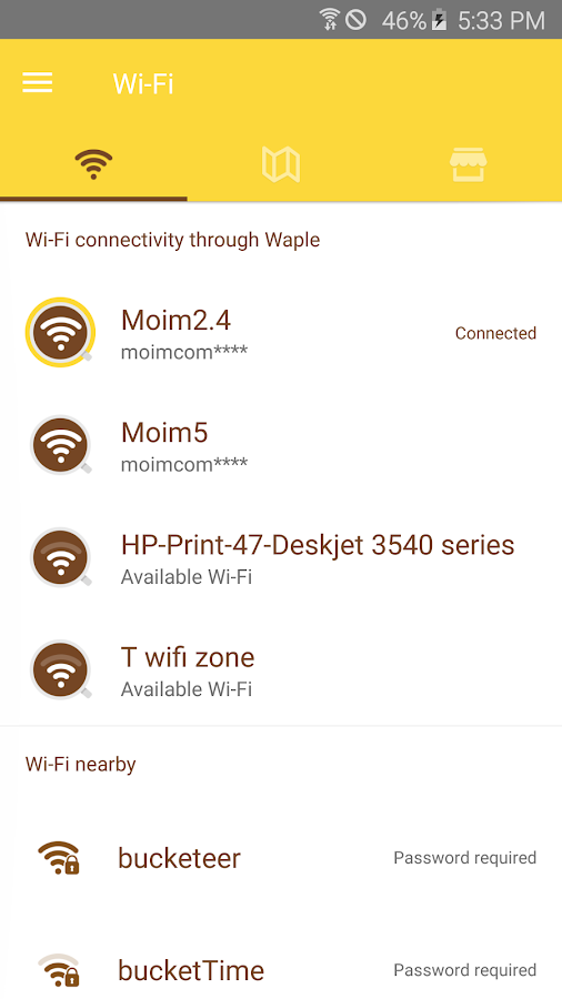 🏅Waple-WiFi Sharing Platform- screenshot