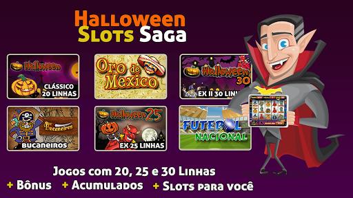 Halloween Slots 30 Linhas Saga