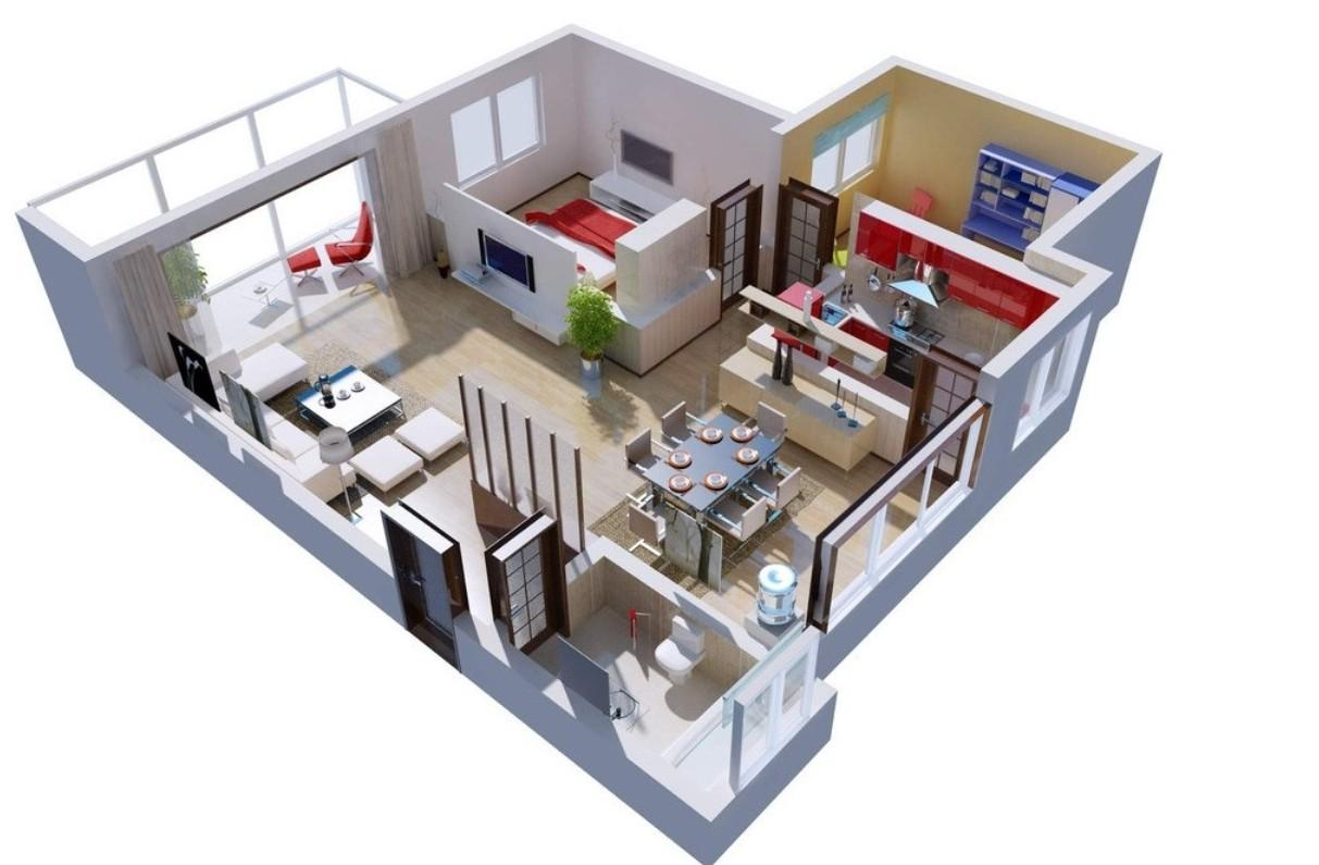 Application home design 3d android wallpapers.