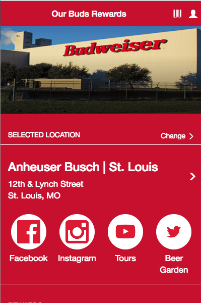 Anheuser Busch- screenshot