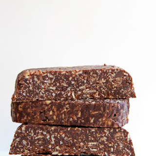 Chocolate Fruit and Nut Bars.