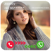 Girl Friends Fake Call & SMS