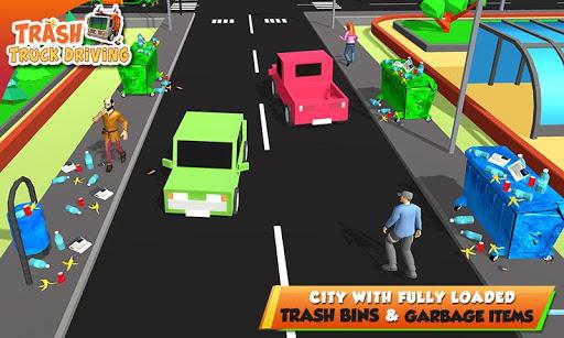 Urban Garbage Truck Driving - Waste Transporter 1 screenshots 5