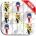 Ladybug and Cat Noir TicTacToe icon