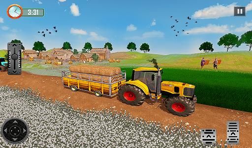 Farming Tractor Driver Simulator : Tractor Games  screenshots 12