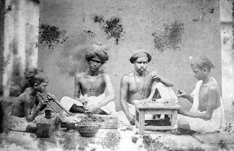 Photo: Gold smiths - Madras