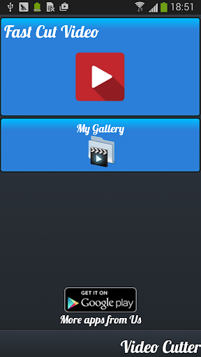 ビデオカッター:ビデオトリマー