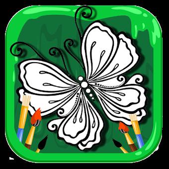 Kelebek Boyama Kitabı Hileli Apk Indir Android Iphone Ios