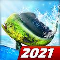 Let's Fish: Sport Fishing Games. Fishing Simulator icon