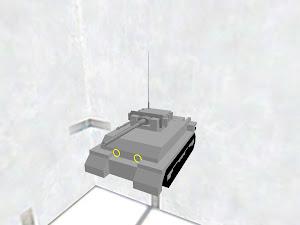 ドイツ戦車(飾り付き)