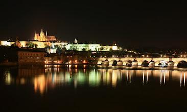 Photo: Praha Karlův most a Pražský hrad