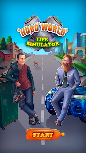 Hobo World – life simulator Apk Download For Android and Iphone 1