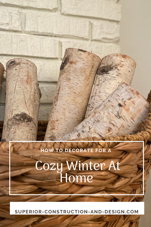 cozy winter at home decorating tips season