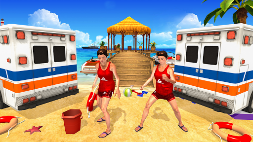 Beach Rescue Training: Coast Lifeguard Rescue Duty 1.1 screenshots 2