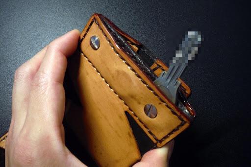 財布 鍵収納