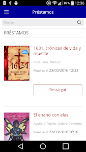 Bibliotecas Diputación Badajoz screenshot 3