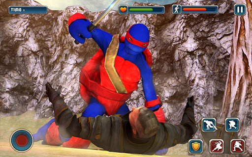 Download Ultimate Ninja Warrior Turtle Sword Fight Game on