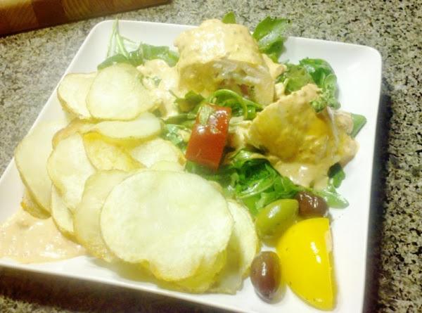 Greek Island Chicken Saltimbocca Recipe