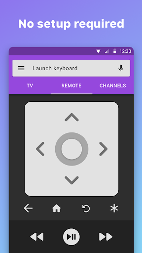 Roku Remote Control: RoByte 2.0.25 screenshots 1