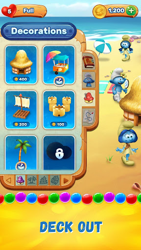 Smurfs Bubble Shooter Story  mod screenshots 4