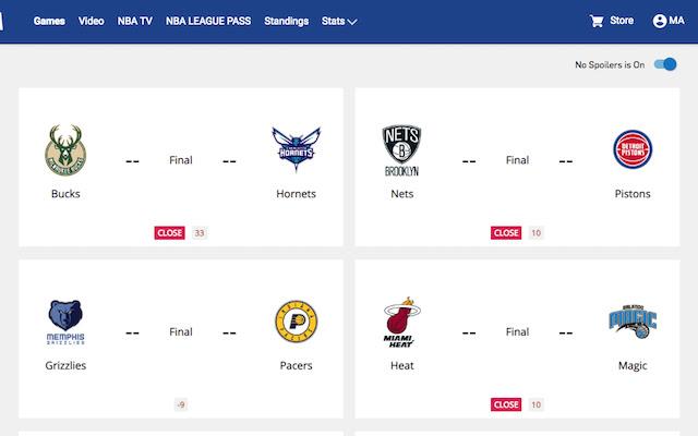 NBA Close Games