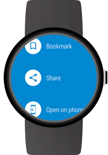 Web Browser for Wear OS (Android Wear) Screenshot