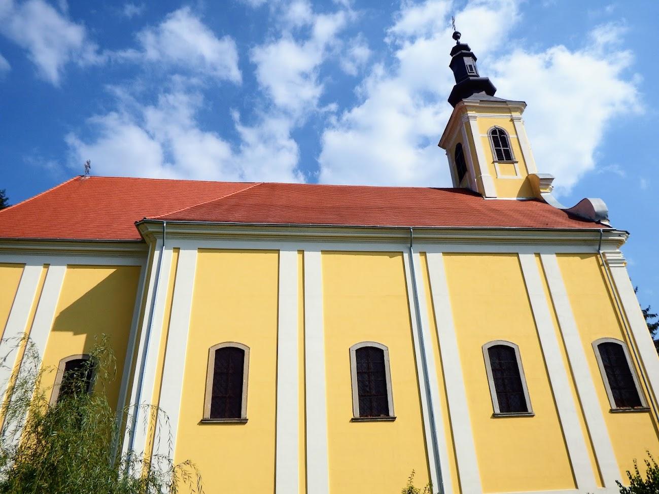 Szécsisziget - Szent Kereszt rk. templom