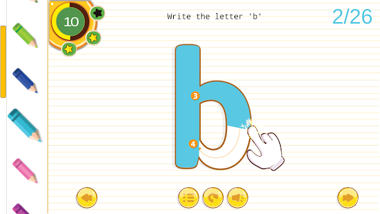Learn To Write English ABC- screenshot thumbnail