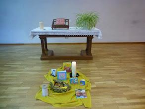Photo: Vorbereitung für den Kindergottesdienst