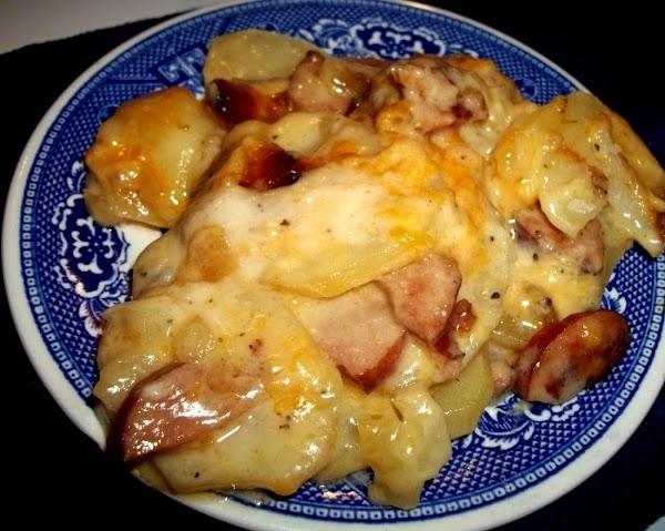 Creamy Scalloped Potatoes & Kielbasa -my Way Recipe