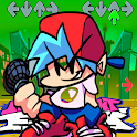 FNF for Friday Night Funkin game music fnf game icon