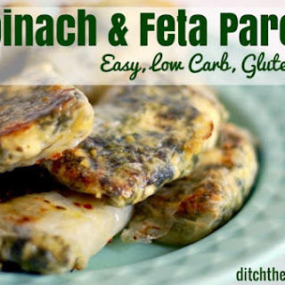 Low Carb Spinach And Feta Parcels