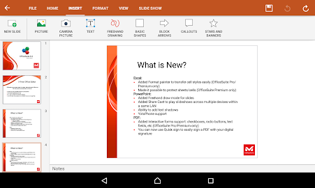 OfficeSuite 8 Pro + PDF Screenshot 5